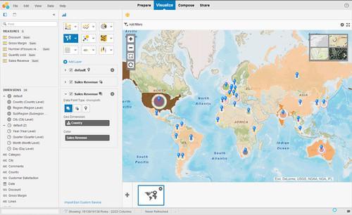 SAP's Lumira analytics tool