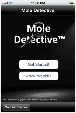 The U.S. Federal Trade Commission has settled a false adversting complaint with the marketer of mobile app Mole Detective.