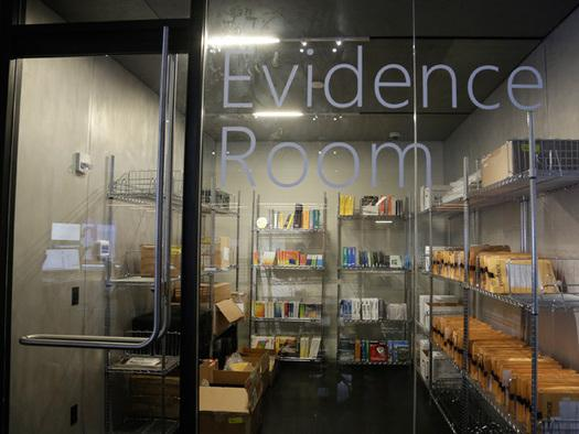 Tacking the fight to cybercriminals: The forensics lab's evidence room   inside the Microsoft Cybercrime Centre, the headquarters of the Microsoft Digital Crimes Unit, in Redmond, Washington. Microsoft is fighting criminal hackers by bringing together security engineers, digital forensics experts and lawyers trained in fighting software pirates under one roof at its Cybercrime Centre.