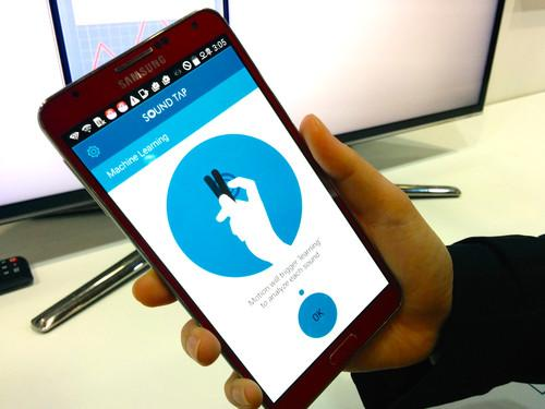At the 2015 Computer-Human Interaction Conference (CHI), a researcher develops Sound Tap, an Android app that lets users control smartphone functions by tapping the back of the phone with one's fingers or tapping the phone itself on objects in the environment.