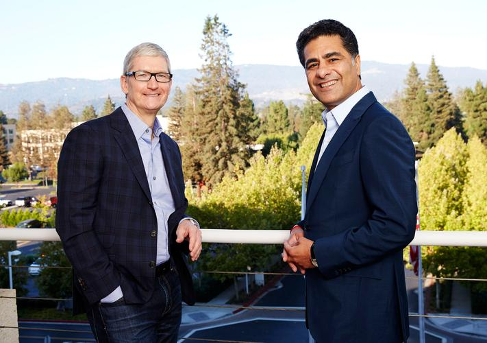 Tim Cook - CEO, Apple and Punit Renjen - CEO, Deloitte Global