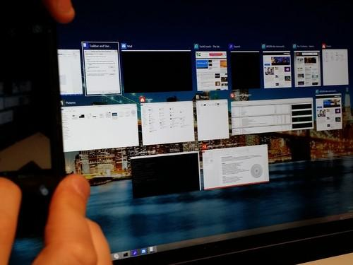Using Alt-TAB to cycle through windows isn't that different than Windows 8, but you can see more of what each window holds.