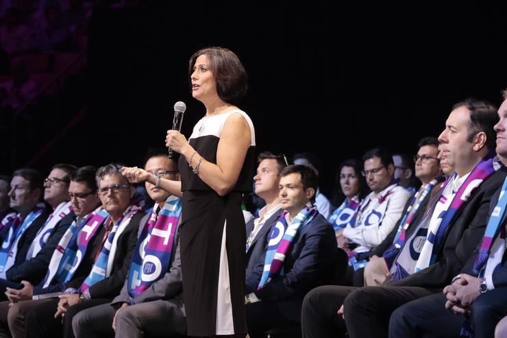Gavriella Schuster, CVP, Microsoft Worldwide Partner Group with Partner of the Year Award winners