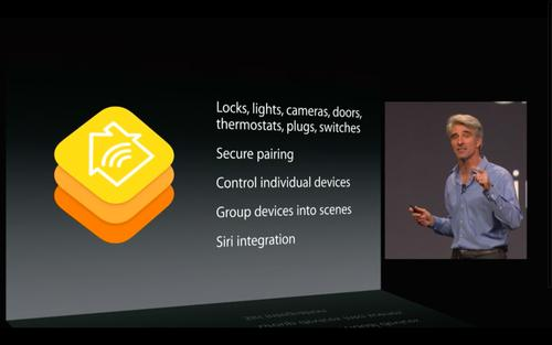 One of the many new developer tools Apple unveiled Monday at the Worldwide Developer Conference is HomeKit, a new suite of tools that will let the makers of smart home products integrate their wares more deeply into Apple's mobile OS.