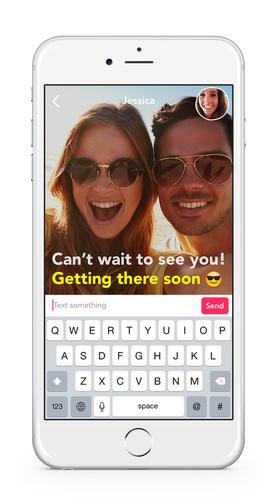 Yahoo's Livetext app for iOS and Android lets people stream live video and text at the same time.
