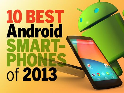 In Pictures: 10 best Android smartphones of 2013