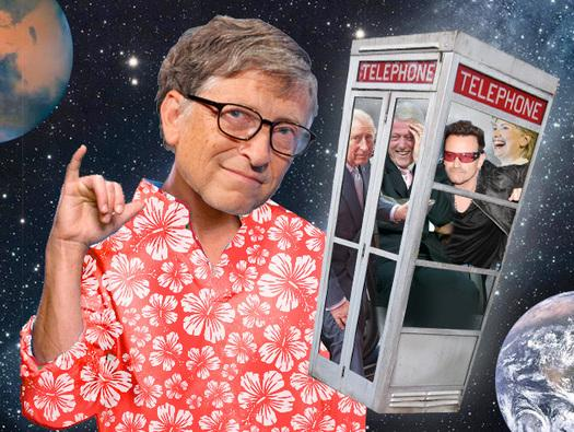 In Pictures: Bill Gates, superstar - His excellent adventures with the famous, rich and powerful