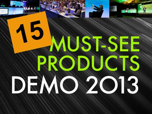 In Pictures: 15 must-see products at DEMO 2013