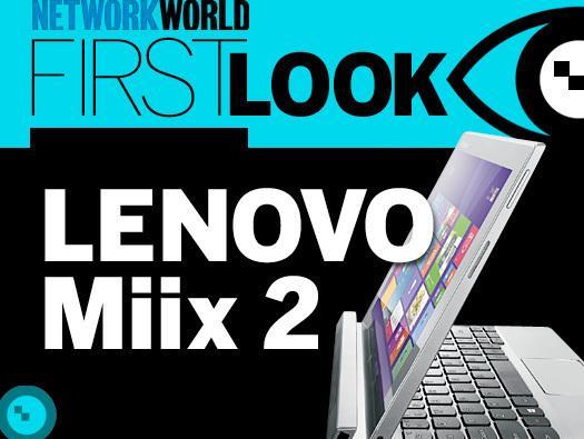 In Pictures: Lenovo Miix 2