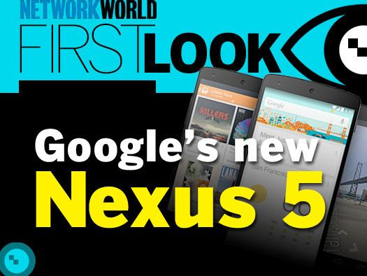 In Pictures: Google's new Nexus 5