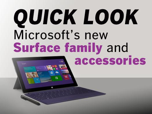 In pictures: Microsoft's new Surface family and accessories