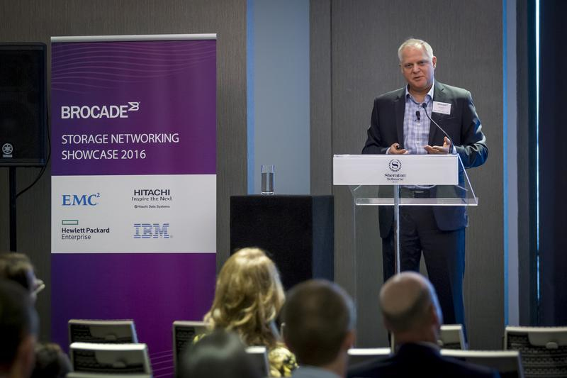 IN PICTURES: Brocade partners with EMC, Hitachi Data Systems, Hewlett Packard Enterprise and IBM at inaugural Storage Networking Roadshow