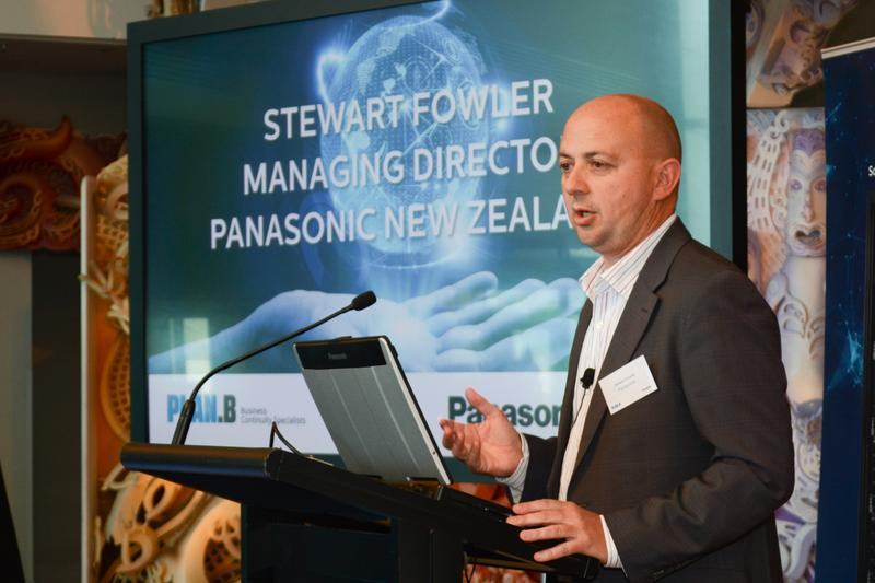 IN PICTURES: Plan B launches world-first Cloud Archive-as-a-Service with Panasonic