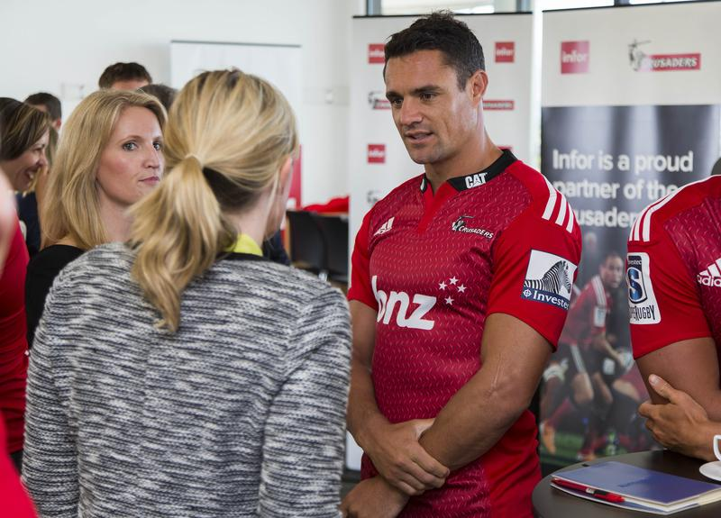 IN PICTURES: Cloud meets Crusaders as Infor reveals NZ Rugby sponsorship