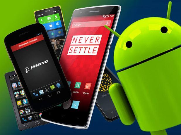 In Pictures: 5 smartphones running alternative versions of Android