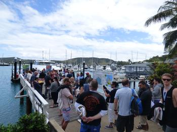 IN PICTURES: Channel connects during Whitsundays cruise at EDGE 2016