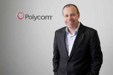 Gary Denman, ANZ MD of Polycom