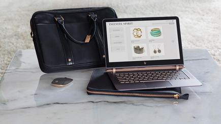 New HP Spectre laptop - a key part of the vendor's refreshed market strategy