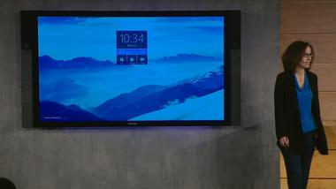 Microsoft reveals Surface Hub, an 84-inch, 4K touchscreen for office collaboration