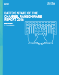 Datto's State Of The Channel Ransomware Report 2016